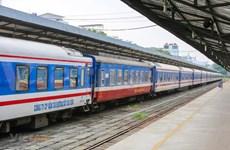 Reajustan horario de trenes para ruta Hanoi-Ciudad Ho Chi Minh por COVID-19