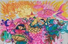 Realizan exposición de dibujos en línea sobre Festival del Medio Otoño