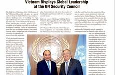 The Washington Times: Vietnam reafirma su papel de liderazgo global