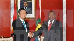 Vietnam y Mozambique miran hacia 500 millones de dólares de comercio bilateral