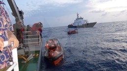 Centenares de pescadores regresan a Vietnam desde Indonesia