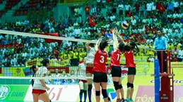 Clausuran torneo internacional de voleibol femenino en Ha Nam