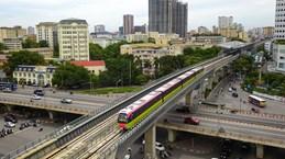 Funcionamiento piloto de sección elevada de tren urbano Nhon-Hanoi