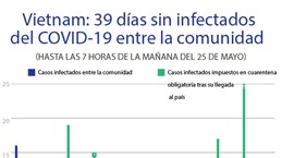[Info] COVID-19 en Vietnam: Sin contagios internos en 39 días