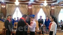 Jóvenes vietnamitas y laosianos contribuirán al fomento de amistad bilateral