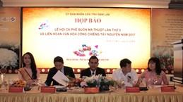 Celebrarán sexto festival de café Buon Ma Thuot en marzo de 2017