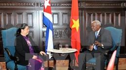 Vietnam y Cuba reiteran voluntad de fortalecer nexos parlamentarios