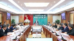Celebra Comisión de Control Disciplinario del PCV su 41 reunión