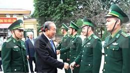 Viceprimer ministro de Vietnam felicita a soldados y pobladores en Ha Giang por el Tet