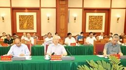 Máximo dirigente de Vietnam preside reunión del subcomité de documentos para XIII Congreso del PCV
