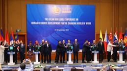 Sesiona conferencia ministerial de ASEAN sobre desarrollo de recursos humanos