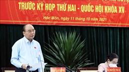 Presidente de Vietnam pide garantizar circulación de bienes y servicios en lucha antipandémica