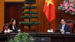 Premier vietnamita pide apoyo continuo de Australia en lucha contra COVID-19