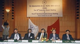 [Foto] VNA fortalece la cooperación internacional  para mejorar calidad de noticias