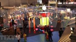 Iluminada Ciudadela Imperial de Thang Long por Festival de Medio Otoño