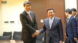 Delegación del Partido Comunista de Vietnam visita Japón