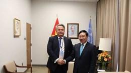 Ucrania y Vietnam por impulsar cooperación bilateral en marco de la ONU