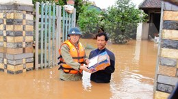 Solidariza consejera de Estado myanmena con Vietnam por secuelas de desastres naturales