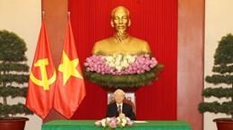Secretario general del PCV dialoga por teléfono con presidente surcoreano