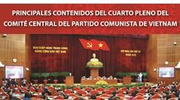 Principales contenidos del cuarto pleno del Comité Central del Partido Comunista de Vietnam