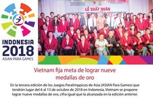 [Info] Vietnam traza meta de lograr nueve medallas de oro en los Juegos Paralímpicos