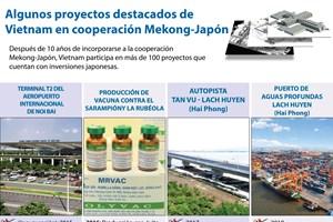 [Infografía] Algunos proyectos destacados de Vietnam en cooperación Mekong-Japón