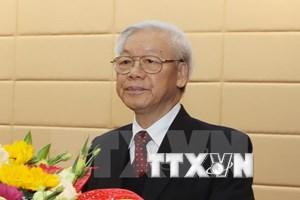 Vietnam entra en año nuevo con vigoroso ímpetu, afirma líder partidista
