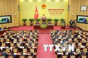 Quinta reunión de Consejo Popular de Hanoi se centran en trazar directrices para 2018
