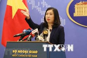 Vietnam condena actividades ilegales de China en Hoang Sa y Truong Sa