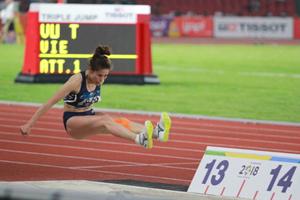 Atleta vietnamita gana bronce en triple salto en Juegos Asiáticos