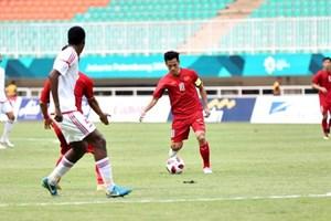 Vietnam pierde el bronce ante EAU en Juegos Asiáticos 2018