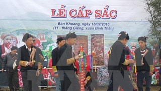 Reconocen ritual de madurez de minoría Dao como patrimonio intangible nacional