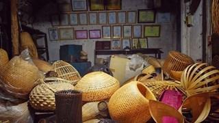 (Televisión) Conserva Vietnam la tejeduría de cestas tradicionales