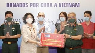 Cuba ayuda a Vietnam en lucha contra el coronavirus