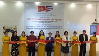 Fotos reflejan seis décadas de relaciones de amistad y cooperación entre Vietnam y Cuba