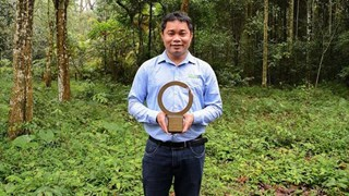 Primer conservacionista de Vietnam recibe premio Goldman