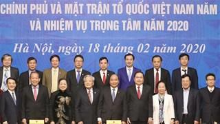 Revisan coordinación entre el gobierno y la mayor organización de masas de Vietnam