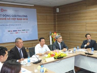 Conferirán este mes primer Premio Digital de Vietnam - 2018