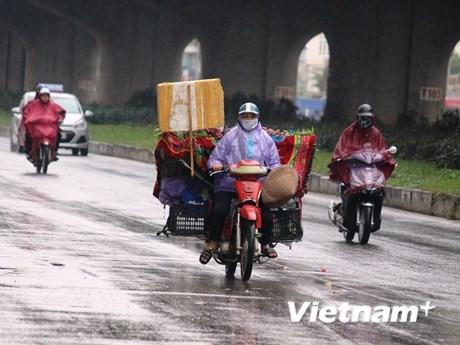 [Foto] Hanoi vive una ola de frío fuerte en invierno
