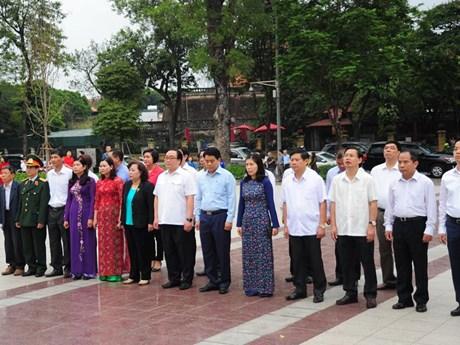 Conmemoran en Hanoi el 148 aniversario por el natalicio de Vladimir Lenin