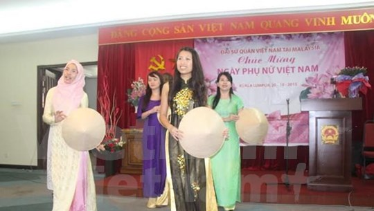 Celebran en Malasia diversas actividades por Día de la Mujer vietnamita