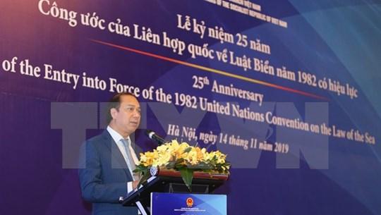 Prioriza Vietnam cumplimiento de Convención de las Naciones Unidas sobre el Derecho del Mar