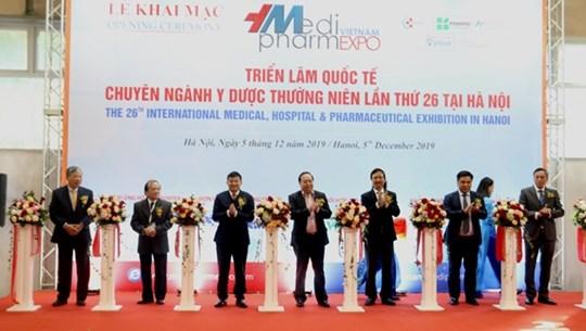 Inauguran en Hanoi Exposición Internacional de Medicina y Farmacia