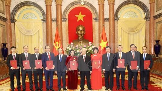 Vietnam nombra a nuevos embajadores para el mandato 2020-2023