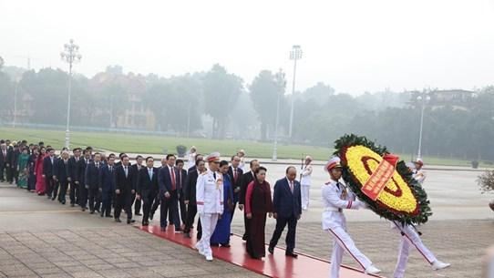 [Foto] Inauguran octavo período de sesiones de Asamblea Nacional de Vietnam