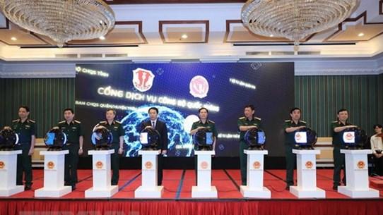 Inauguran portal de servicios públicos del Ministerio de Defensa de Vietnam
