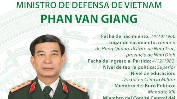 Phan Van Giang, nuevo ministro de Defensa de Vietnam