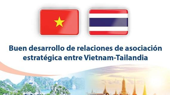 [info] Buen desarrollo de relaciones de asociación estratégica entre Vietnam-Tailandia