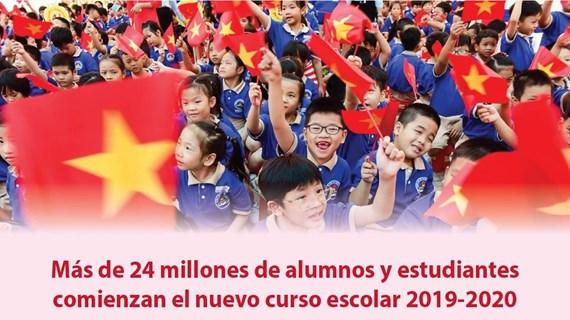 [Info] Inician en Vietnam nuevo año escolar más de 24 millones de alumnos