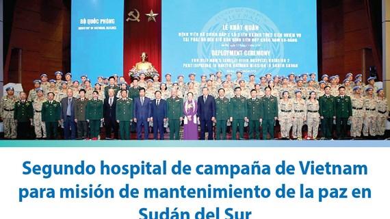 [Info] Segundo hospital de campaña de Vietnam para misión de mantenimiento de la paz en Sudán del Sur
